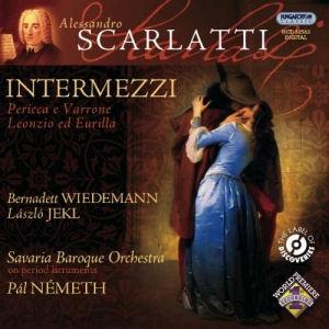 Alessandro Scarlatti: Intermezzi - Savaria Baroque Orchestra CD