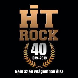 HitRock - 40 (1979-2019): Nem az én világomban élsz CD