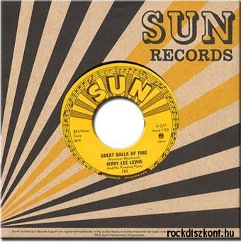 Jerry Lee Lewis - Great balls of fire / You win again - 7