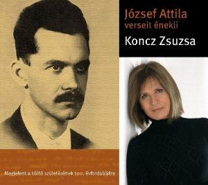 Koncz Zsuzsa - József Attila verseit énekli CD