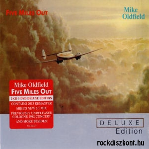 Mike Oldfield - Five Miles Out (Deluxe Edition) 2CD+DVD