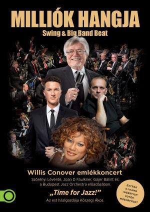 Milliók hangja - Swing & Big Band Beat - Willis Conover emlékkoncert DVD
