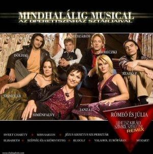 Mindhalálig musical - Operettszínház sztárjaival CD
