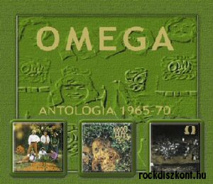 Omega - Antológia 1965-1970 3CD