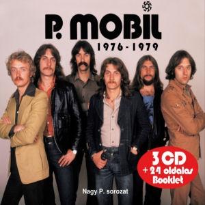 P. Mobil - 1976-1979 - Nagy P. sorozat (Vikidál évek) 3CD+24 oldalas Booklet
