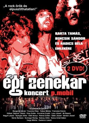 P. Mobil - Égi Zenekar Koncert 2DVD + 24 oldalas Booklet