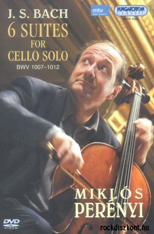 Bach - 6 Suites for Cello solo BWV 1007-1012 DVD