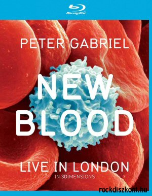 Peter Gabriel - New Blood Live In London (In 3Dimensions Edition) DVD+BD+3DBD (3D Blu-ray Disc)