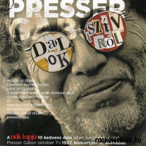 Presser Gábor - Dalok a szívről (kartontokos) CD