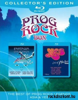 Asia + Yes - The Best Of Prog Rock Legends (Box Set) 2BD (2 Blu-ray Disc)