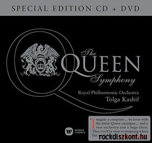 The Queen Symphony - Royal Philharmonic Orchestra / Tolga Kashif (Special Edition) CD+DVD