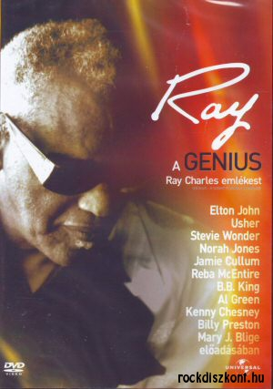 A Genius - Ray Charles Emlékest DVD
