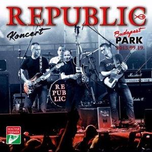 Republic - Koncert Budapest Park 2015.09.19. - CD