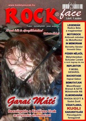 Rockface Magazin - I. évfolyam 1. szám