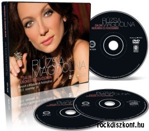 Rúzsa Magdi - Dalok húrokra és Fúvósokra - Koncert a Művészetek Palotájában 2013. november 2CD+DVD
