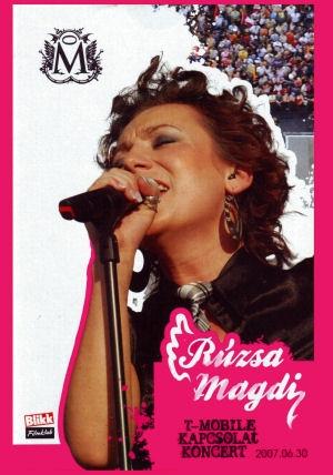 Rúzsa Magdi - T-Mobile Kapcsolat Koncert 2007.06.30. DVD