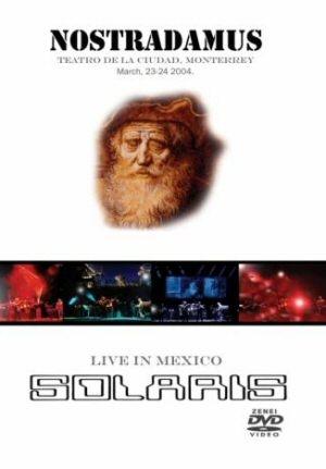 Solaris - Nostradamus - Live in Mexico DVD+CD