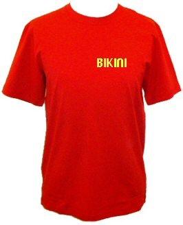 Bikini - Hímzett női póló