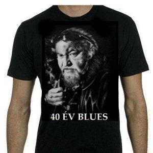Deák Bill Gyula - 40 év blues - póló