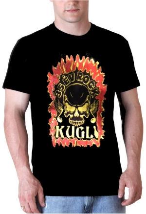 Kugli - 35 év Rock - férfi póló