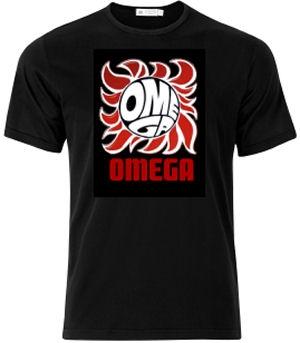 Omega - Let It Rock Omega Póló (Black)