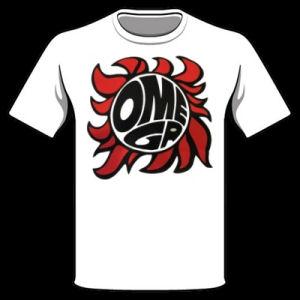 Omega - Let It Rock Omega Póló (White)