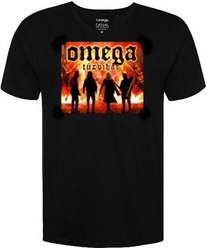Omega - Tűzvihar turné póló