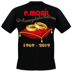P. Mobil - Aranylakodalom 1969-2019 - Póló