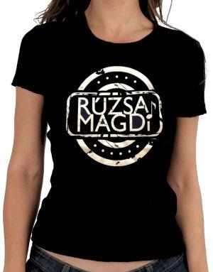 Rúzsa Magdi póló (fekete)