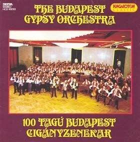 100 tagú Budapest Cigányzenekar CD