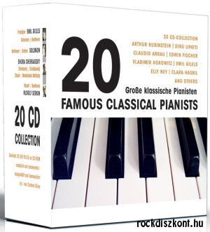 20 Famous Classical Pianists - 20CD Collection
