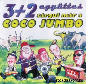 3+2 együttes - Sárgul már a Coco Jumbo CD