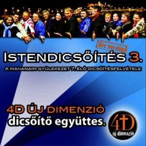 4D Új Dimenzió - Istendicsőítés 3 CD