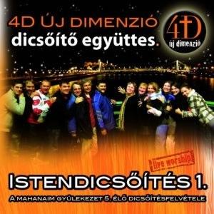 4D Új Dimenzió - Istendicsőítés 1 CD