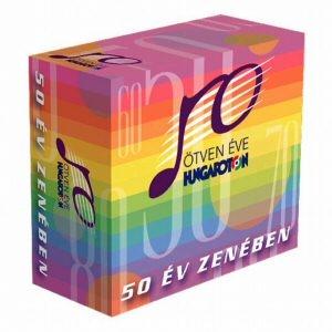 50 éve Hungaroton - 50 év zenében 6 CD Díszdobozban