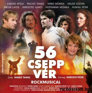 56 csepp vér - Musical CD