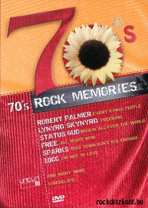 70's Rock Memories - Various Artists DVD