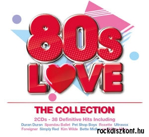 80s Love - The Colleciton - 38 Definitive Hits Including 2CD