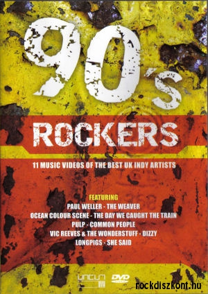 90's Rockers - 11 Music Videos of the Best UK Indy Artists DVD