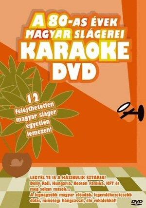A 80-AS évek magyar slágerei - Karaoke DVD