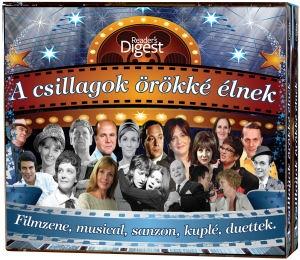 A csillagok örökké élnek - Filmzene,  musical,  sanzon,  kuplé,  duettek (101 dal) 5CD