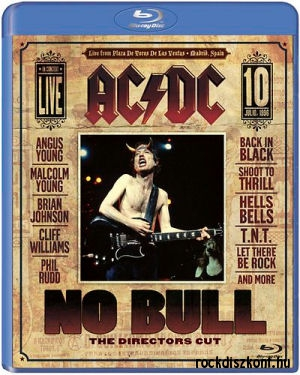 AC/DC - No Bull (The Directors Cut) Blu-ray