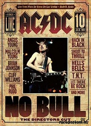 AC/DC - No Bull (The Directors Cut) DVD
