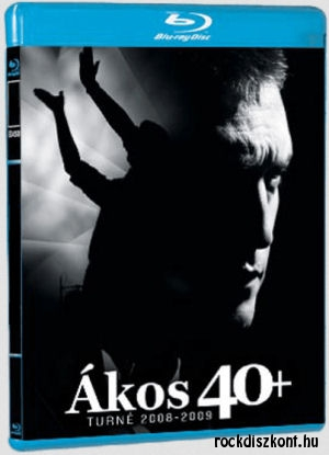 Ákos - 40+ BD (Blu-ray Disc)
