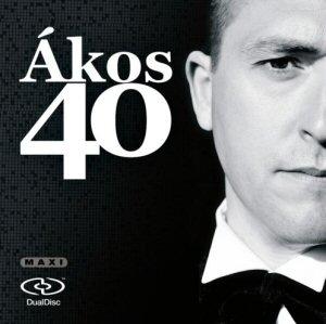 Ákos - 40 DD (DualDisc) maxi