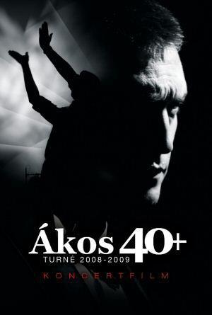 Ákos - 40+ - Turné 2008-2009 Koncertfilm DVD