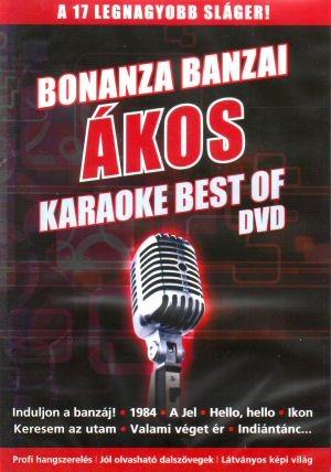 Ákos - Bonanza Banzai és Ákos Karaoke Best of  - A 17 legnagyobb sláger! DVD