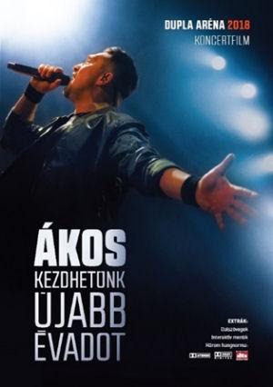 Ákos - Kezdhetünk újabb évadot - Dupla Aréna 2018 Koncertfilm DVD