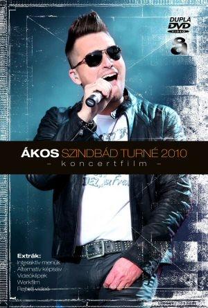 Ákos - Szindbád Turné 2010 - Koncertfilm - 2DVD