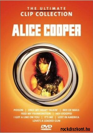 Alice Cooper - The Ultimate Clip Collection DVD